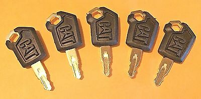 5 Caterpillar - Cat Heavy Equipment Keys 5p8500 New Style Logo Ships Free