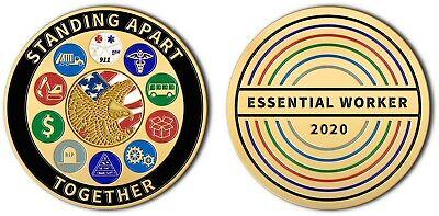Essential Worker Challenge Coin 2020