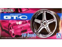 Aoshima 054611 Volk Racing GT-C 19 Zoll Felgen Reifen JDM 1:24 # 70