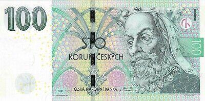 Czech Republic, 2018 100 Korun P-18 ((Unc)) *** King Karel***
