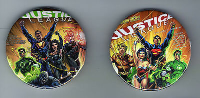 Justice League Crime Syndicate Fore-ever Evil refrigerator magnets