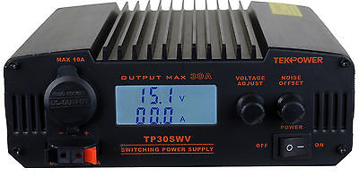 Tekpower Tp30swv 30 Amp Dc 13.8v Switching Power Supply With Noise Offset