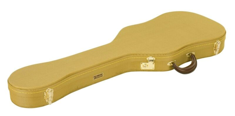 NEW Fender Telecaster Tele Tweed Thermometer HARDSHELL CASE Guitar 099-6104-300