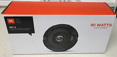 JBL 90W 2-WAY 4 INCH 10cm CAR/VAN DOOR/SHELF COAXIAL SPEAKERS GRILLS NEW PAIR