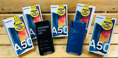 SAMSUNG GALAXY A50 ( A505 ) 64 GB Hyacinthine FACTORY UNLOCK 6.4 INCH NEW 2019 Characterize