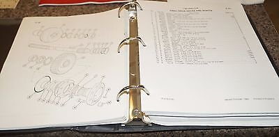 Case 870 Agri-king Tractor Sn 8675001  After Parts Catalog Manual Book