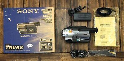 Sony CCD-TRV68 Digital8 Hi8 Video Camera Video Recorder Transfer TESTED