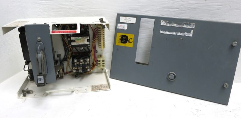 "Cutler Hammer F10 Unitrol Size 1 Starter 20A Breaker Type 12"" MCC Bucket 20 Amp"