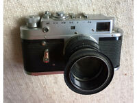 Zorki 4 35mm Rangefinder Metal Body Camera