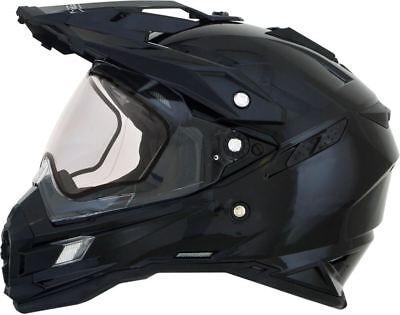 AFX FX-41DS-S Black Dual Sport Double Lens Snow Helmet ()