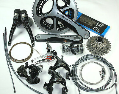 2016 Shimano Dura Ace Group 9000 11s Groupset Kit Group Set - 52/36 or 50/34
