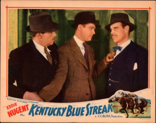 Kentucky Blue Streak Original Lobby Card 1935  Puritan Pictures