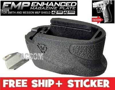 - Strike Industries Enhanced Magazine Plate Extension S&W M&P Shield EMP Base