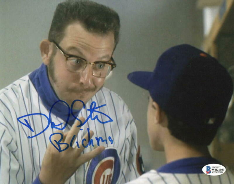 DANIEL STERN SIGNED ROOKIE OF THE YEAR SIGNED 8X10 PHOTO BRICKMA AUTO BECKETT B