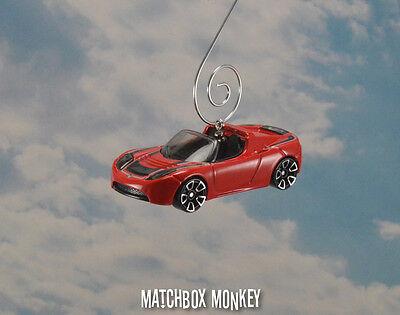Elon Musk Spacex Tesla Roadster Convertible Coche Eléctrico Navidad Decoración