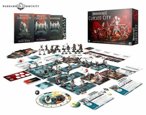 Warhammer Quest Cursed City Games Workshop NIB