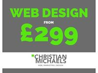 Website Design from £299. Web Development, Ecommerce, SEO & Marketing