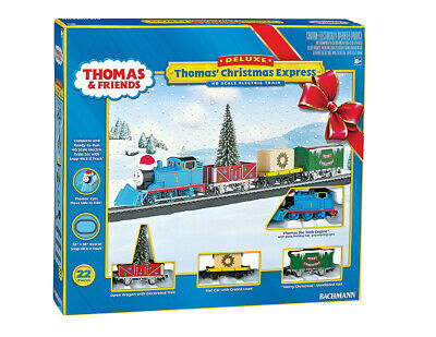 Bachmann HO Thomas The Tank Engine Christmas Express Train Set 00721 NEW