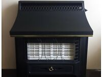 Valor Black Beauty Fireslide 4.0 KW Gas Fire