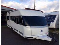 2013 Hobby 610UL Twin Axel 4 berth fixed single beds