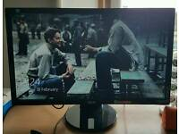 """Asus 24"""" full hd led monitor with built-in speakers"""