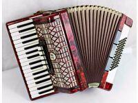 Galotta 72 Bass Accordion - 3 Voice Made in Germany
