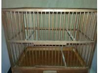 Bird cage mule, canary, finch