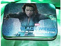Marvel Black Widow 1 oZ Silver Collectible Coin