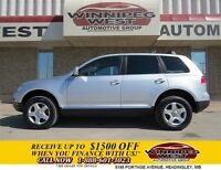 2007 Volkswagen Touareg V6 4X4, Leather Heated Seats, Sunroof, L