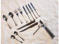 Job lot of cutlery