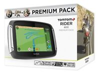 BRAND NEW TomTom Rider 400 Premium Pack Satellite Navigation System