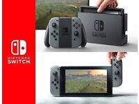 Brand New Nintendo Switch Grey 32GB BNIB sealed with Warranty