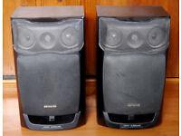 Large Aiwa SX-FZ1500 Twin Duct 3 Way Bass Reflex Speaker System