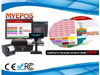 CX3500 EPOS Premium Touch Screen Touch System with Quad Core Processor and SSD Hard Drive