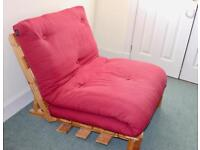 Lovely Handmade Futon Single Bed, Able to Deliver In perfect condition