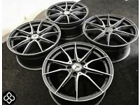 "BRAND NEW MERCEDES 18"" AMG STYLE ALLOY WHEELS - AVAILABLE WITH TYRES - 5 X 112"