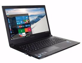 "NEW LENOVO B50 LAPTOP 15.6"" INTEL QUAD CORE 4GB RAM 128GB SSD BLUETOOTH HDMI WEBCAM 12 MTHS WARRANTY"