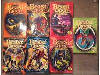 Beast quest 7 books great condition