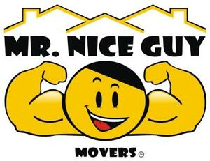 Mr. Nice Guy Movers, Your #1 Choice For Calgary Furniture Delivery Services.