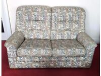 Parker Knoll 2 seater sofa and one armchair