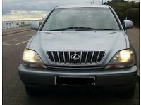 Lexus rx300 se atuo with lpg conversion for sale or may swap?range rover p38 or x5 bmw or any 4x4