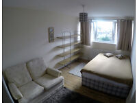 Large, bright double room for a single professional in Battersea