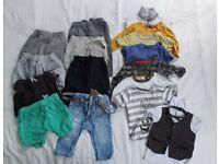 Bundle of boy clothes 3-6mths