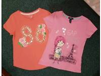GAP girls top size 8-9 years old