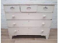 Victorian Chest Of Six Drawers (DELIVERY AVAILABLE FOR THIS ITEM OF FURNITURE)