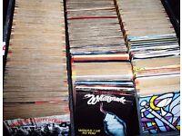 "Job Lot of 750 RARE 45 RPM 7"" Single Records 70s 80s ALL TOP BANDS, NO RUBBISH!"