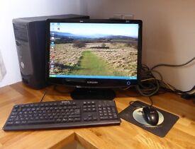 "Samsung 20"" LCD PC monitor"