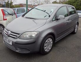 VW GOLF PLUS S 1600cc 5 DOOR HATCH 2005-05, 1 DOCTOR OWNER WITH 57K AND FULL SERVICE HISTORY