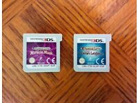 Professor Layton and the Miracle Mask + Azran Legacy - Nintendo 3DS / 2DS Game Bundle - Fun Puzzles