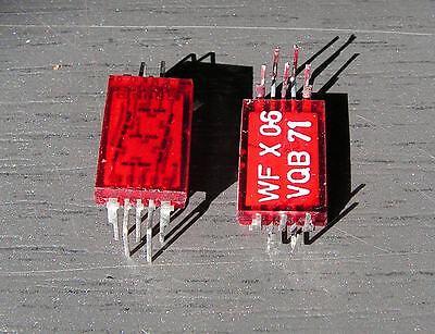 Vqb71 7-segment Ca Led Display Nos Lot-20 Pcs.